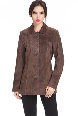 BGSD  - Suede Leather Car Coat