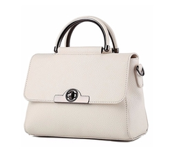 Phifa - Leather Box Satchels Bag