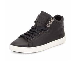 Rag & Bone - Kent Leather Mid-Top Sneaker