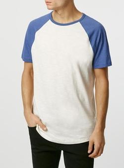 Topman - Slub Raglan T-Shirt