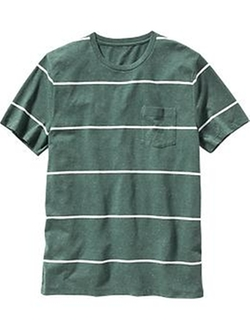 Old Navy - Striped Pocket Tee Shirt