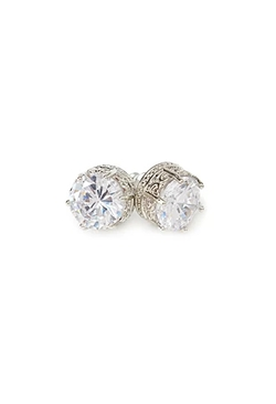 Forever 21 - Round Zirconia Stud Earrings
