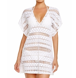 Milly - Dolman Crochet Swim Cover Up