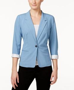 Kensie  - Three Quarter Sleeve Blazer