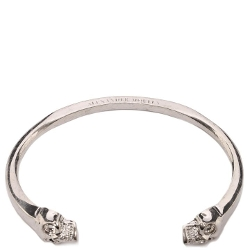 Alexander Mcqueen - Twin Skull Bangle Bracelet