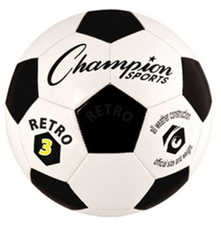 Champion Sports - Retro3 Soccer Ball
