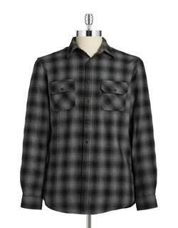 Hudson North - Plaid Flannel Sportshirt