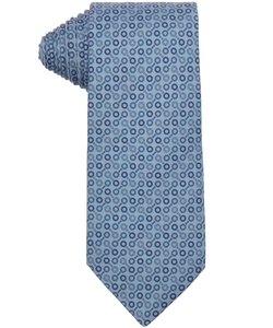 Hermes - Circle Printed Silk Tie