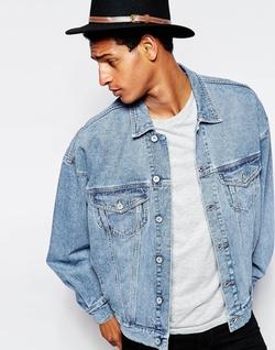 Asos - Oversized Denim Jacket