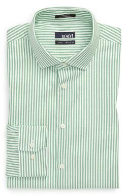 1901  - Slim Fit Stripe Oxford Dress Shirt