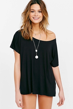 Truly Madly Deeply - Off-The-Shoulder Tee Shirt