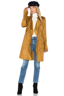 Free People  - Faux Suede Meadow Jacket