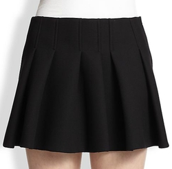 Alexander Wang - Pleat-Front Mini Skirt