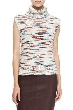 Elizabeth & James - Sleeveless Turtleneck Sweater