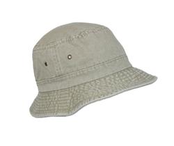Dorfman Pacific  - Cotton Packable Summer Travel Bucket Hat