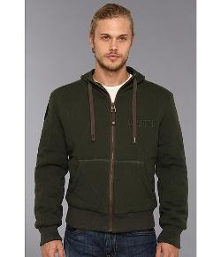 Authentic Apparel US Army - Quilted Hoodie