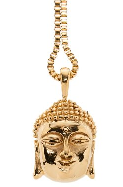 Veritas - The Siddhartha Pendant Necklace in Gold