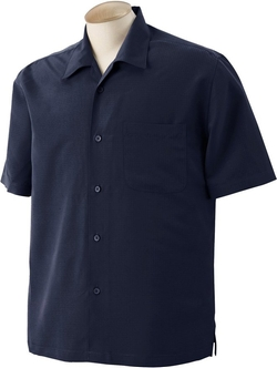 Harriton - Barbados Textured Camp Shirt