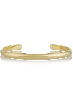 Jennifer Fisher - Half Round Gold-Plated Arm Cuff