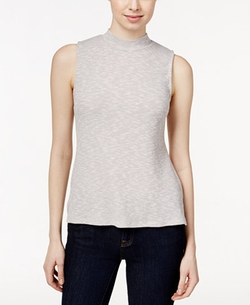 Style & Co. - Sleeveless Mock Neck Top