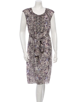 Viktor & Rolf - Floral Print Silk Dress
