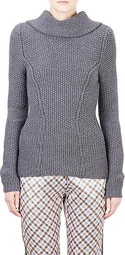 Nina Ricci - Popcorn-Stitched Sweater
