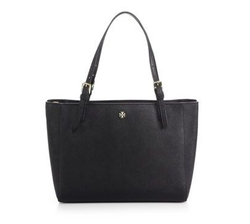 Tory Burch - York Small Saffiano-Leather Tote Bag