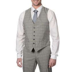 Perry Ellis - Plaid Suit Vest