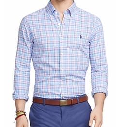 Polo Ralph Lauren - Plaid Oxford Button Down Shirt