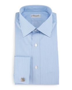 Charvet - Striped French-Cuff Dress Shirt