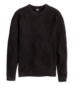 H&M - Waffle-Knit Sweater