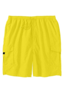 Kingsize - Nylon Cargo Swim Trunks Shorts