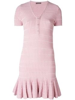 Alexander Mcqueen - Pleated Mini Dress