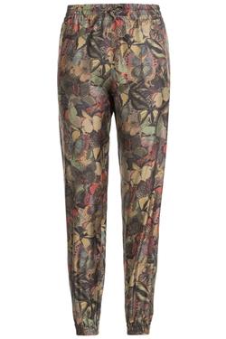 Roberto Cavalli   - Rose Print Trousers