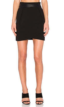 Ikks Paris  - Belted Mini Skirt