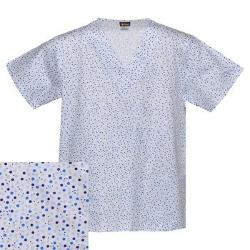 Salus Uniforms  - Printed V-neck Scrub Top