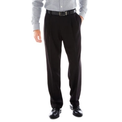 Haggar - Eclo Pleated Stria Dress Pants