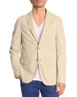 HARTFORD  - Jules 2 Buttons Beige Jacket