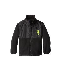 U.s. Polo Assn. - Kids Polar Fleece Jacket with Ripstop Trim (Little Kids)