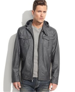 INC International Concepts  - Walker Hooded Coat