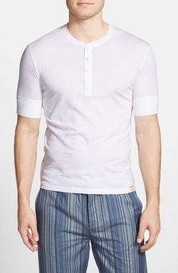 Paul Smith - Short Sleeve Henley Shirt