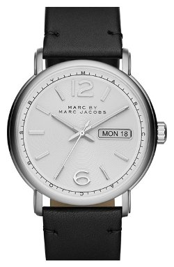 Marc by Marc Jacobs  - Fergus Leather Strap Watch