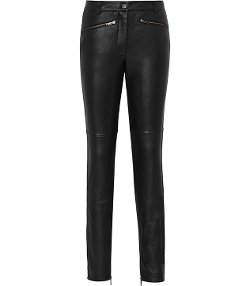 Reiss - Leather Trousers