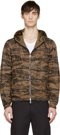 Moncler - Brown Camo Reversible Jacket