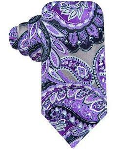 Geoffrey Beene  - Printed Paisley Tie