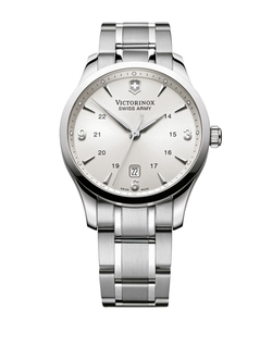 Victorinox Swiss Army - Mens Alliance Stainless Steel Watch
