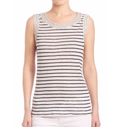 Generation Love - Lucy Crystal Stripe Tank Top