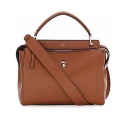 Fendi - DOTCOM Medium Leather Satchel Bag