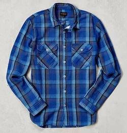 CPO - Herringbone Plaid Button-DownWorkshirt