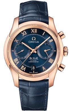Omega  - De Ville Co-Axial Chronograph Watch